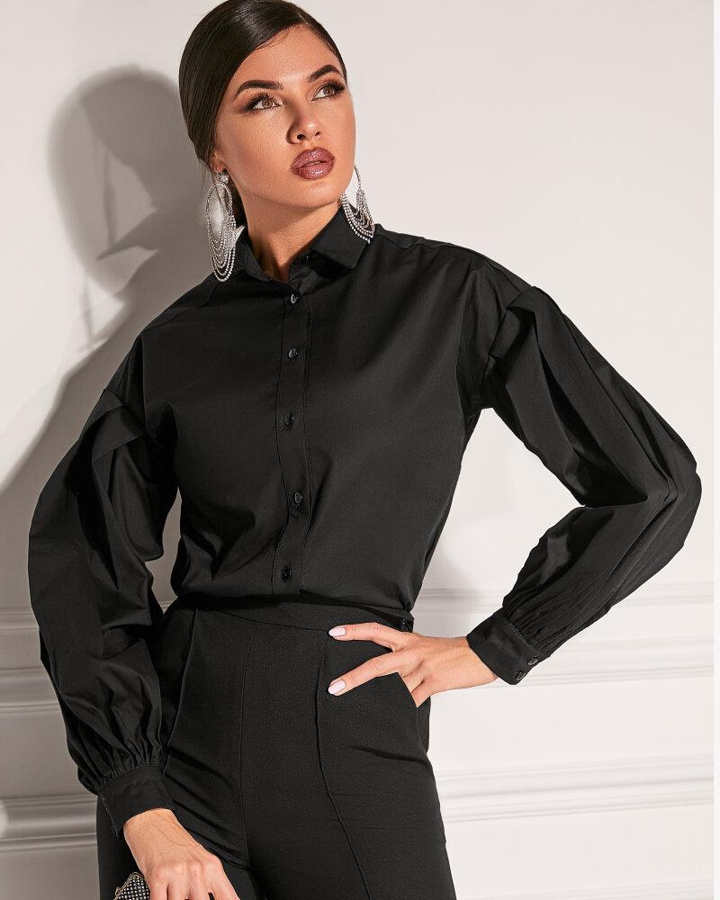 Рубашка классического черного цвета