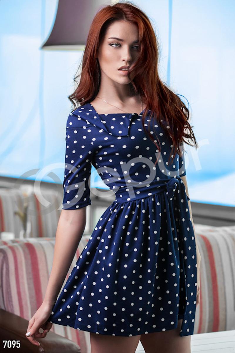 b401d070ac95 Gepur   Платье синее