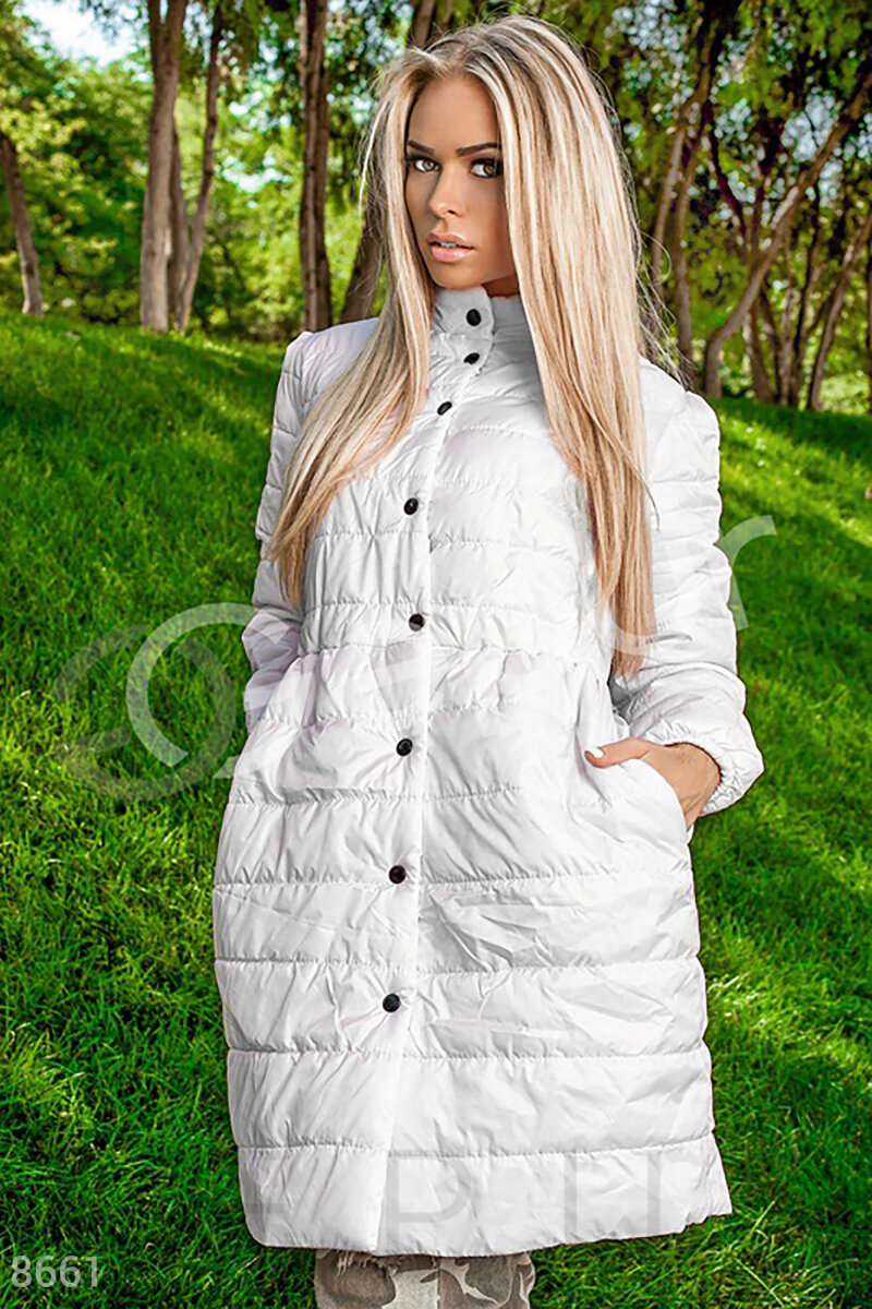 Demi quilted coat