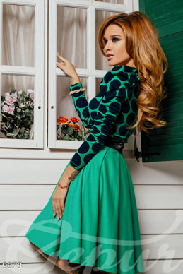 Menthol MIDI dress