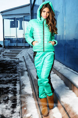 Sports quilted suit menthol photo 1