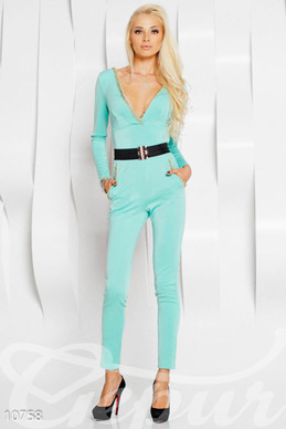 Mint jumpsuit photo 1