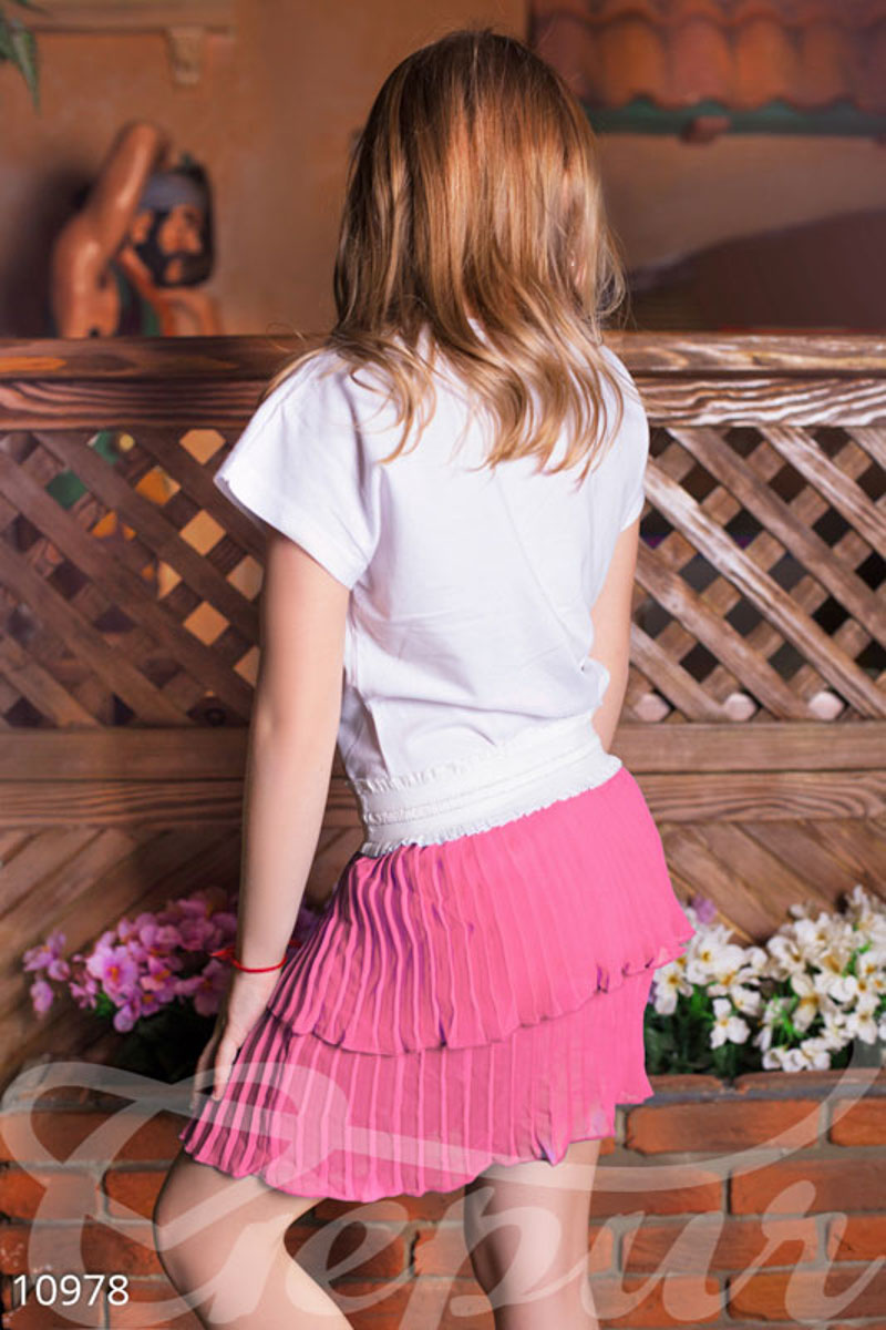 Children's flared skirt