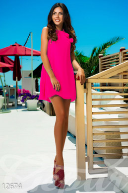 Short dress Barbie-neon photo 1