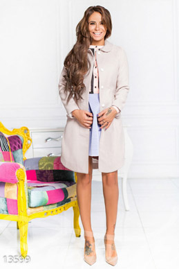 Hrazovoe elegant cashmere coat photo 1