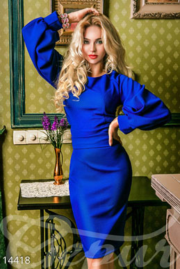 The original bodycon dress with sleeves photo 1