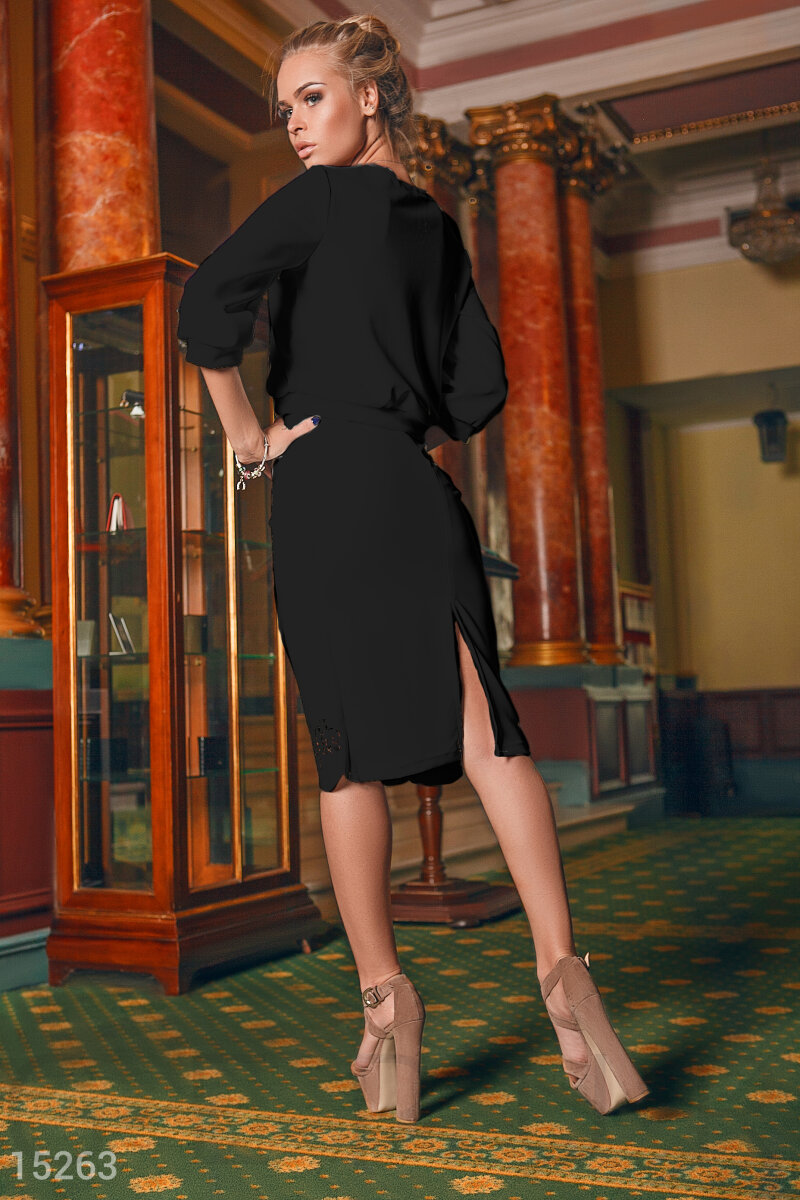 Black suit jacket/skirt Black 15263