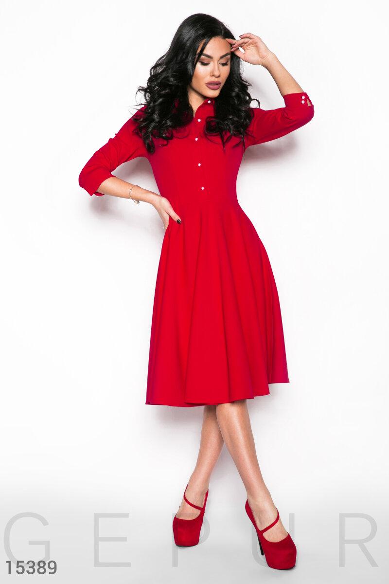 1bd3df321a988b7 Женственное платье-клеш - купить оптом и в розницу | GEPUR