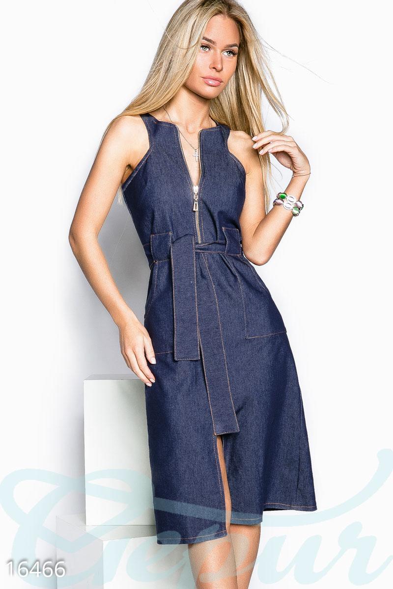 e690aa29e9c Летний джинсовый сарафан - купить оптом и в розницу