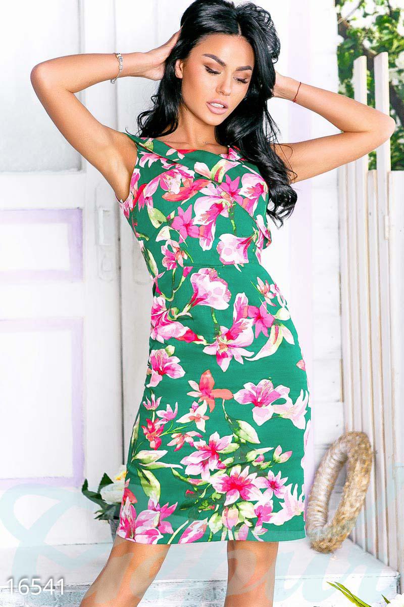 25f44aac3c5878a Пёстрое летнее платье - купить оптом и в розницу | GEPUR
