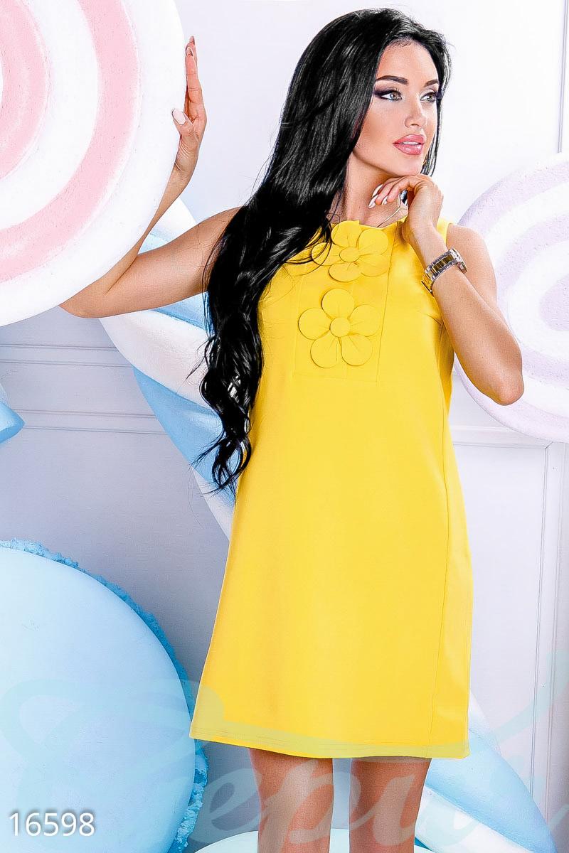 Gepur   Яркое платье-трапеция арт. 16598 Цена от производителя ... 8686bc0e29e