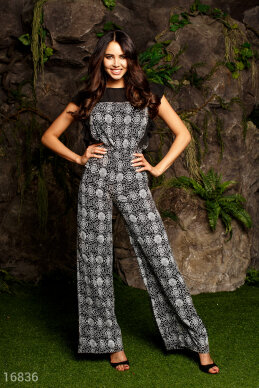 Elegant combo jumpsuit photo 1