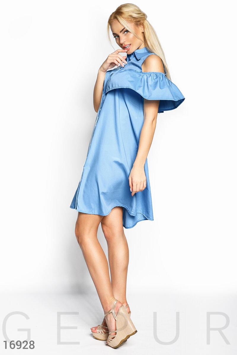 502379947fd Оригинальное платье-рубашка - купить оптом и в розницу