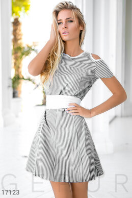 Cute striped dress  photo 1