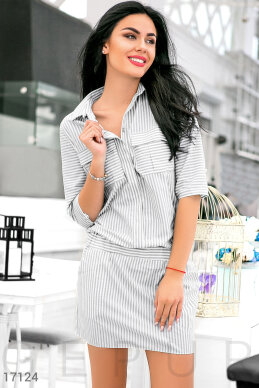 Striped dress-shirt photo 1