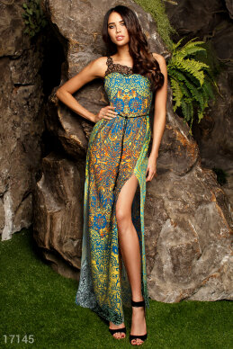 Graceful long sundress photo 1