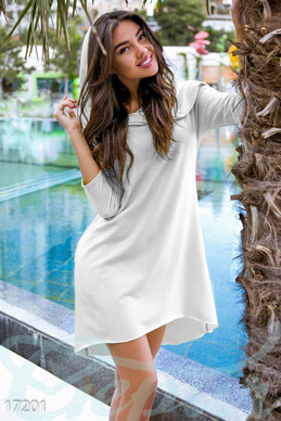 Stylish asymmetric dress photo 1
