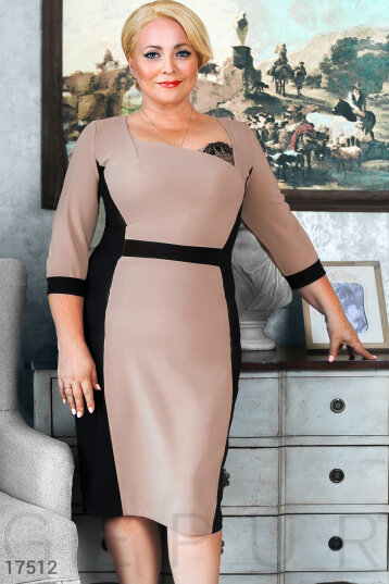 Elegant sheath dress photo 1