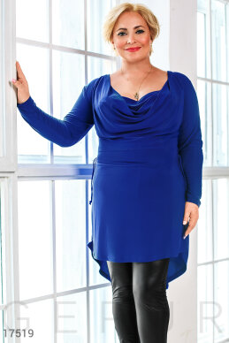 Stylish asymmetric tunic photo 1