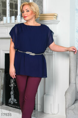 Lightweight chiffon blouse photo 1