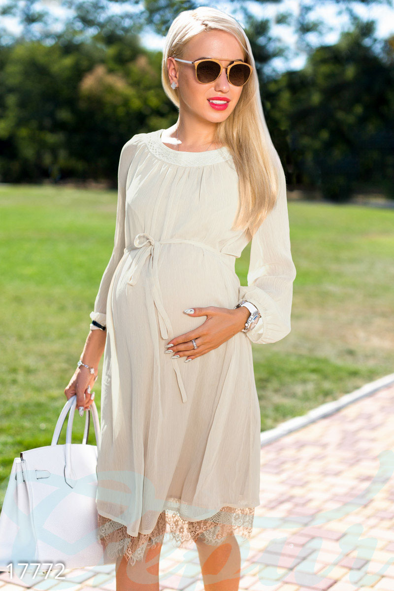 ef1353ca772 Шифоновое платье беременной - купить оптом и в розницу