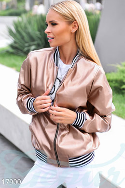 Trendy bomber jacket photo 1