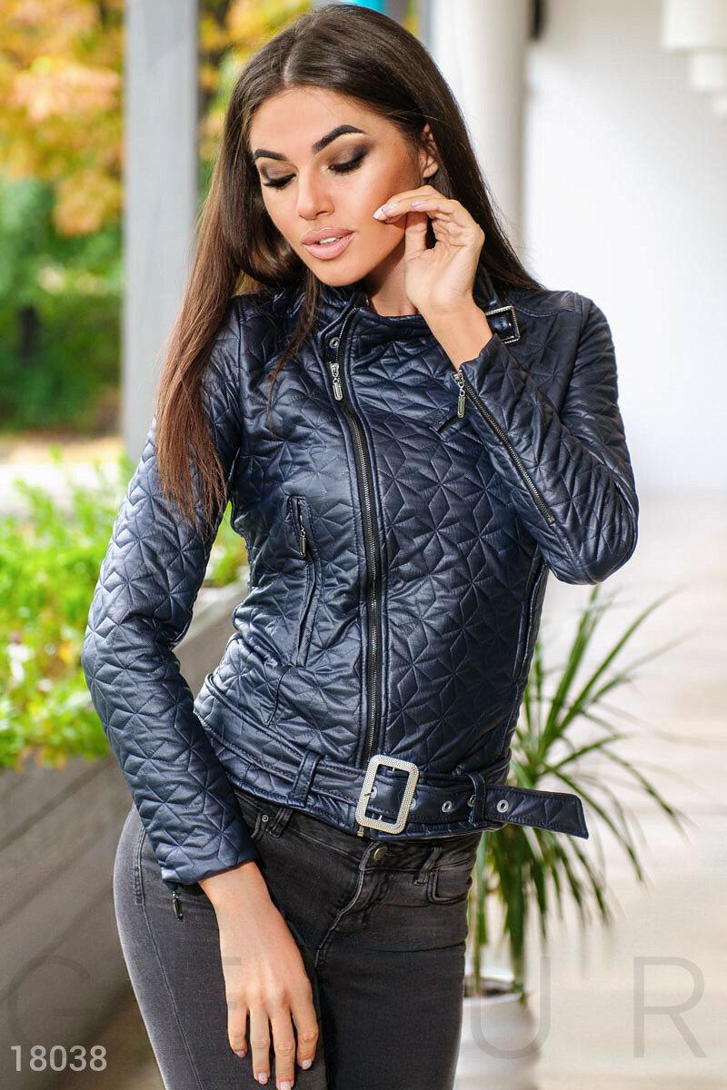 Стеганая куртка-косуха
