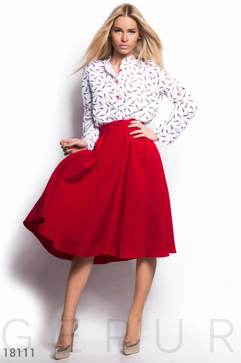 Базовая юбка-клеш