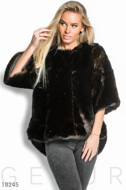 Fur coat-manteau photo 1