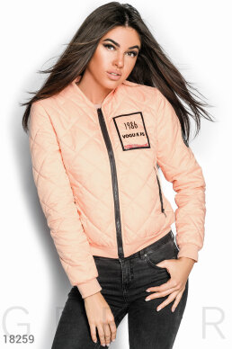 Demi bomber jacket photo 1