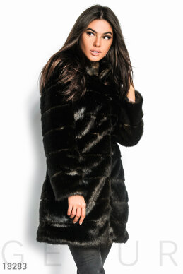 Warm long coat photo 1