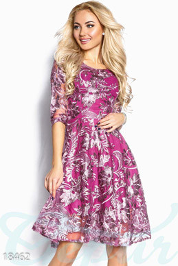 Elegant embroidered dress photo 1