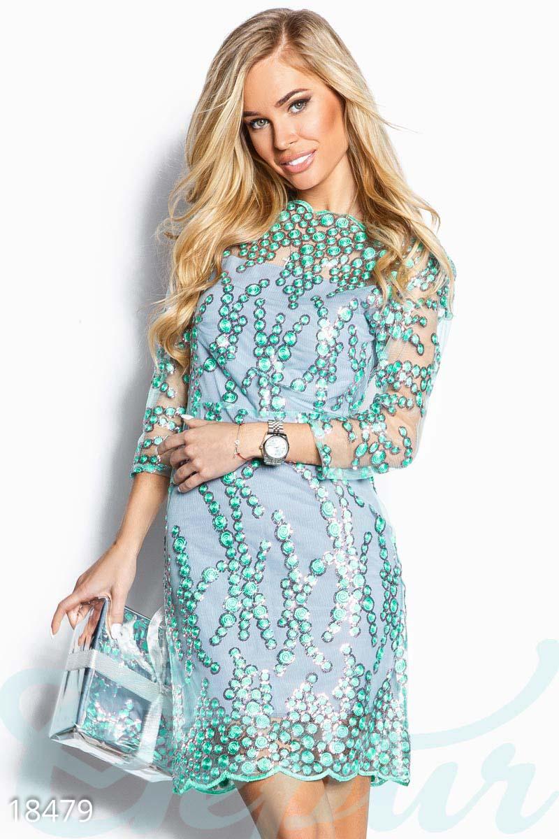 cec257f786a Оригинальное платье-сетка - купить оптом и в розницу