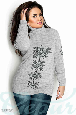 Battle sweater snowflakes photo 1