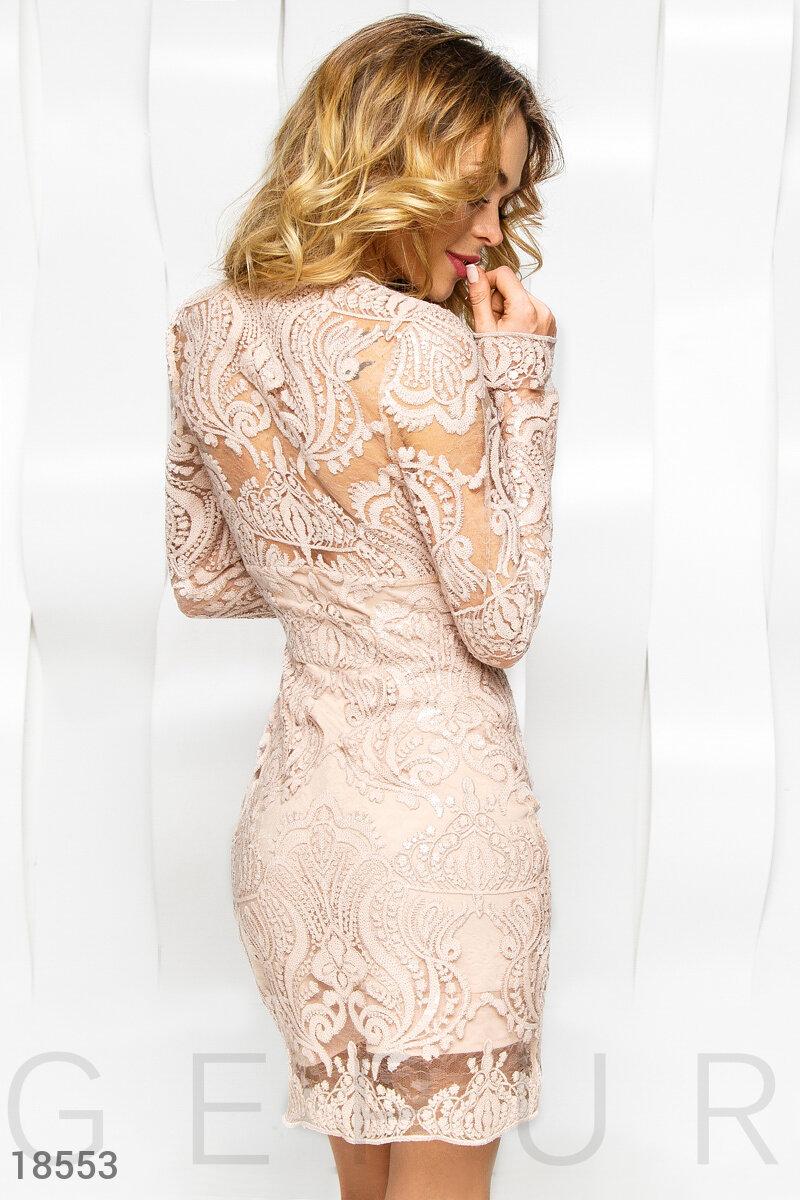 Коктейльное платье Gepur