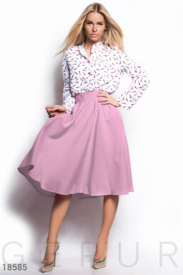 The skirt is the bell flare photo 1