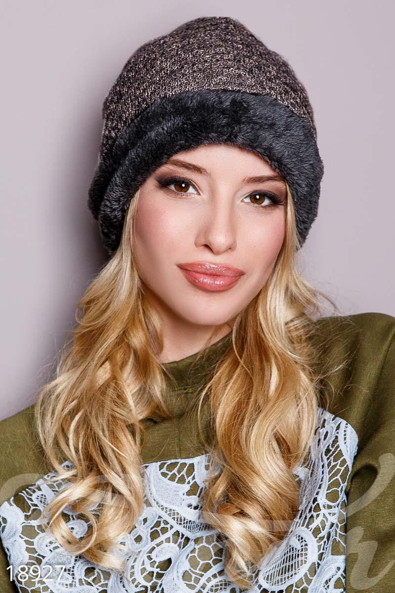Тепла шапка для холодної погоди! Модель ea851a113ab27
