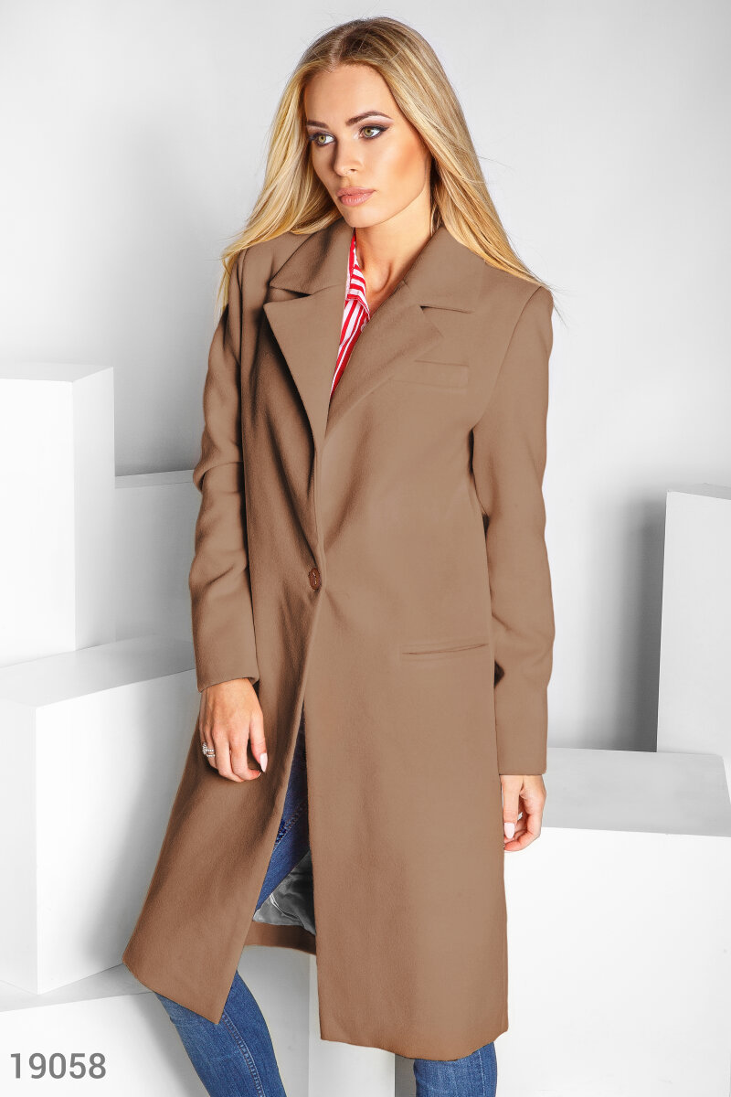 Direct cashmere coat Beige 19058