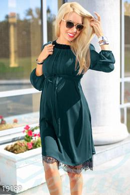 Платья гипюр для беременных