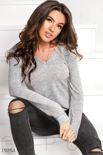 Soft asymmetrical sweatshirt photo 1