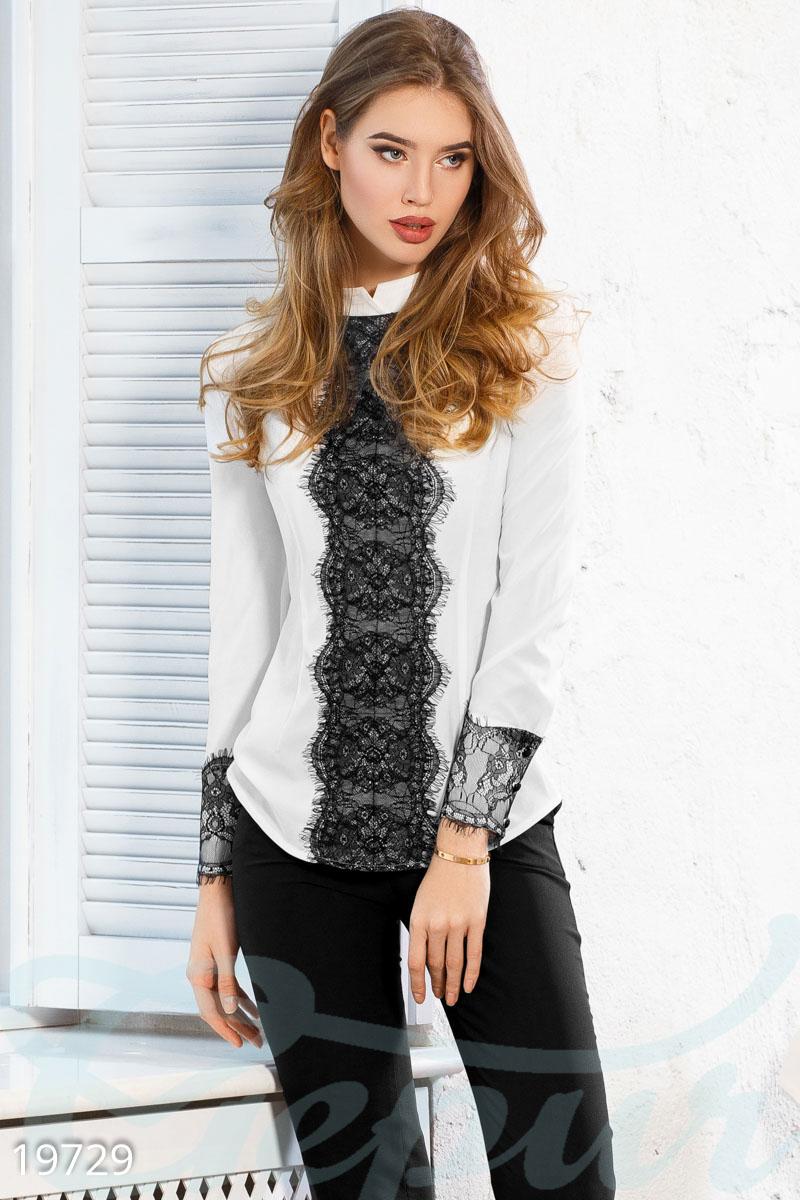 65a634a9328 Блуза с гипюром - купить оптом и в розницу