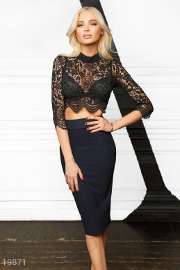 Bodycon skirt suit photo 1