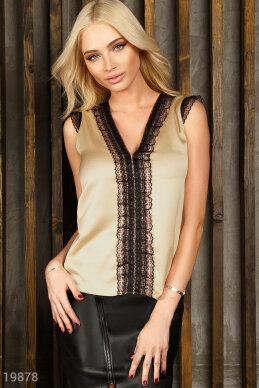 Lightweight silk blouse photo 1