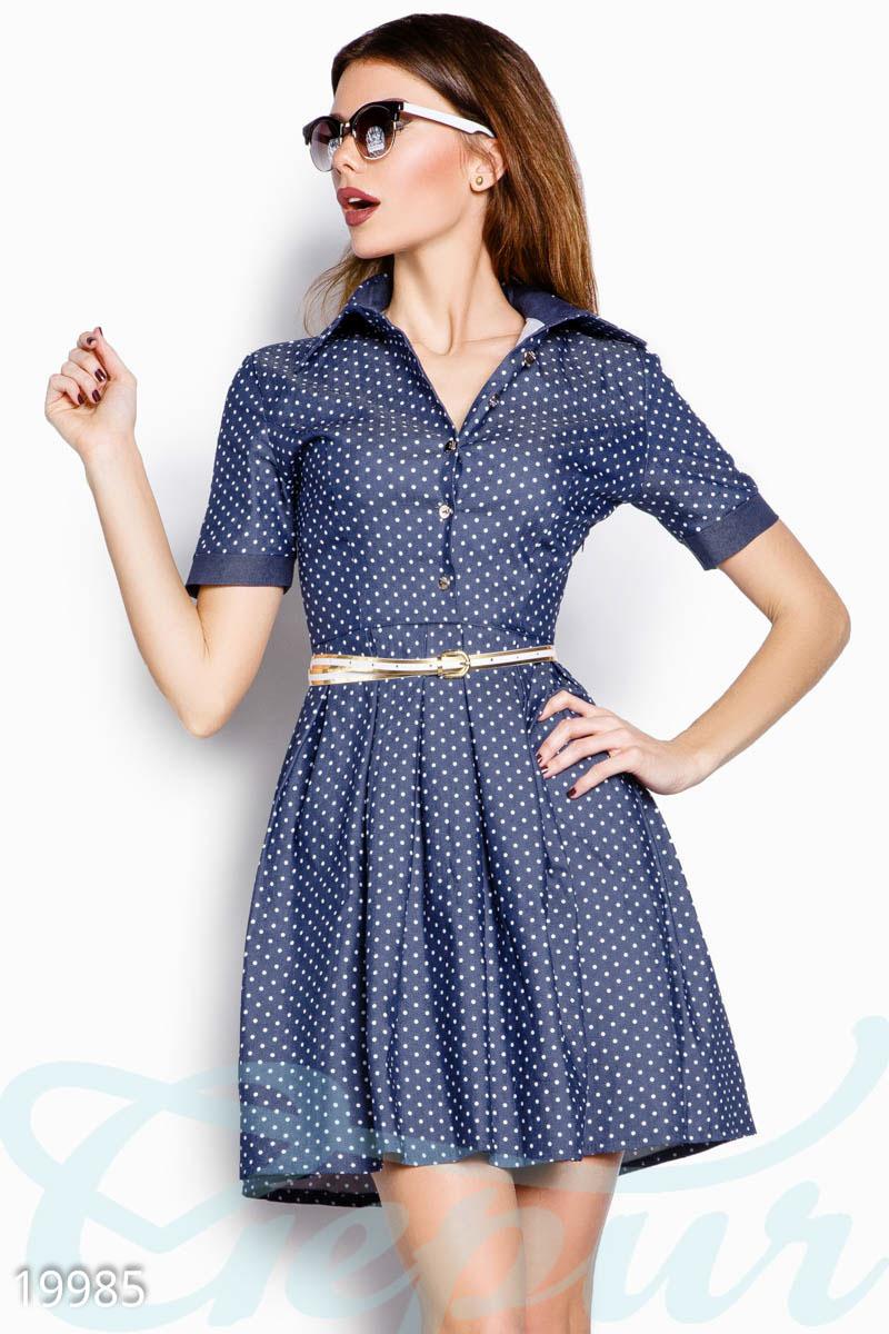 Джинсовое платье описание