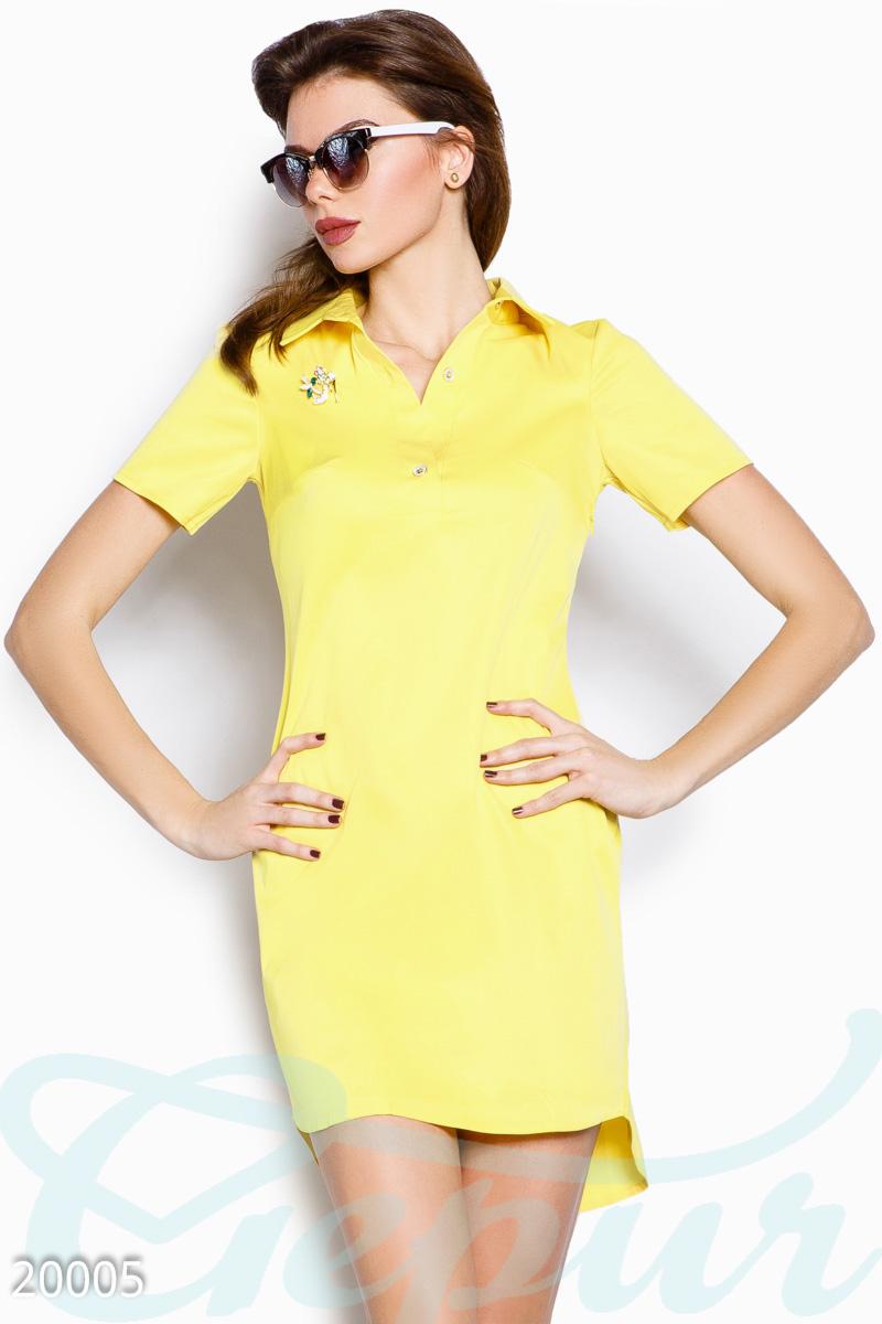 30987d3de40 Летнее платье-рубашка - купить оптом и в розницу