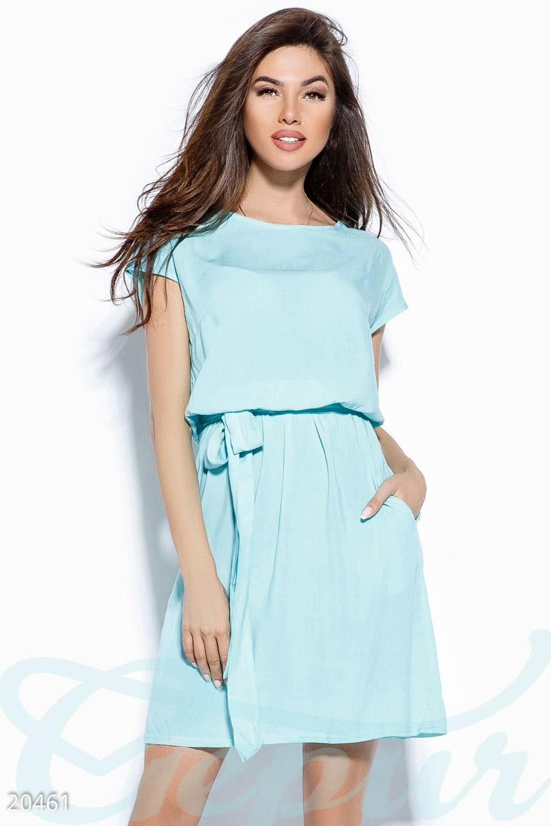 3a0a2ae77ef Однотонное платье-туника - купить оптом и в розницу