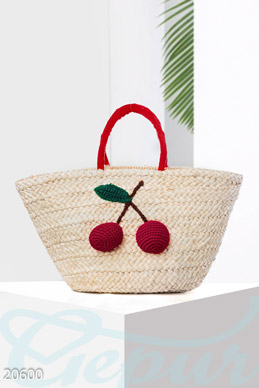 Straw bag applique  photo 1