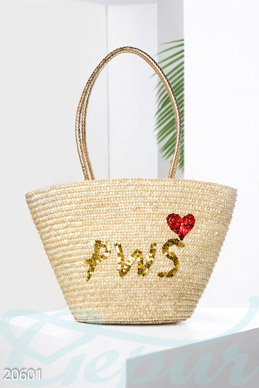 Straw bag PWS photo 1