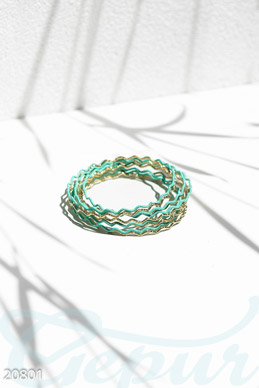 Multilayer rigid bracelet  photo 1