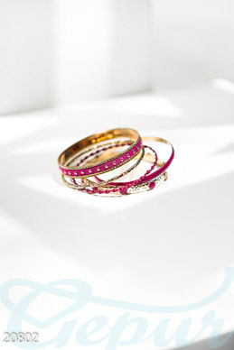 Bright multilayer bracelet  photo 1
